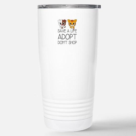 Adopt Don't Shop Mugs