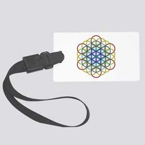 Archangel Metatron Delight Large Luggage Tag