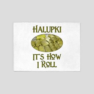 Halupki - It's How I Roll 5'x7'Area Rug