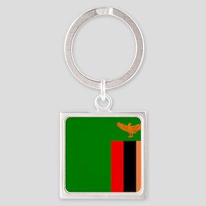 Flag of Zambia Keychains
