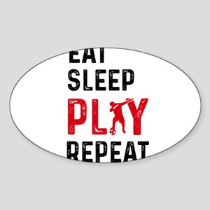 Eat Sleep Play Soccer Cool Player Dab Danc Sticker