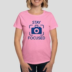 Stay Focused Women's Dark T-Shirt