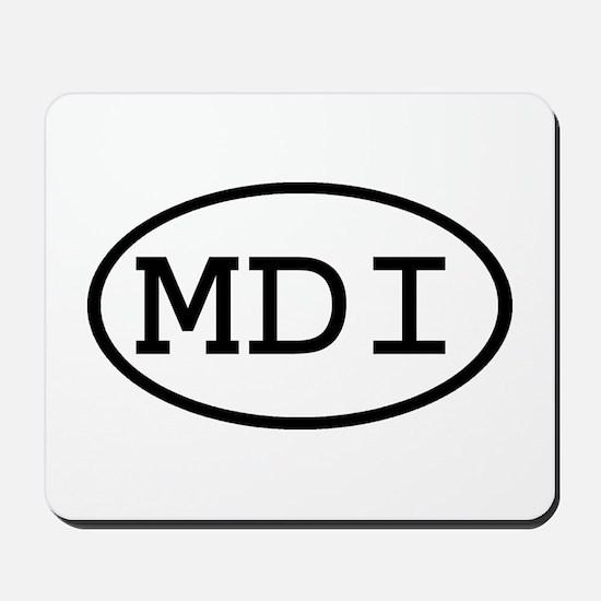 MDI Oval Mousepad