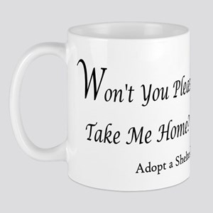 Won't You Please Take Me Home Mug