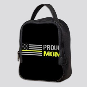 U.S. Flag Yellow Line: Proud Mo Neoprene Lunch Bag