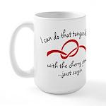Cherry Stem Large Mug