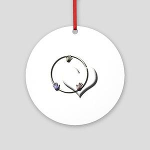 Candaa Circle of Love Ornament (Round)