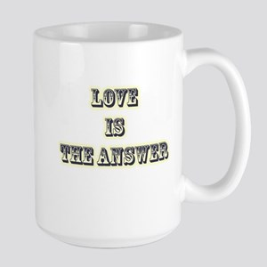 Love is the Answer Large Mug
