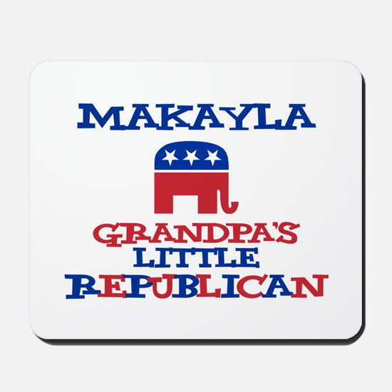 Makayla - Grandpa's Little Re Mousepad