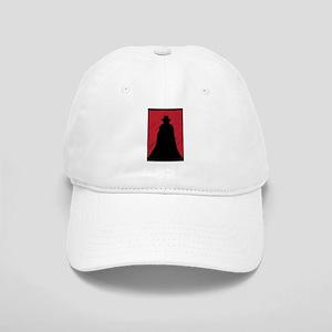 Dracula Scribble Grunge In Red Cap