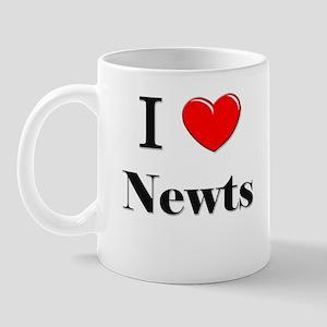 I Love Newts Mug
