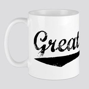 Vintage Great Falls (Black) Mug