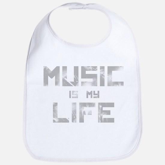 Music Is My Life Bib