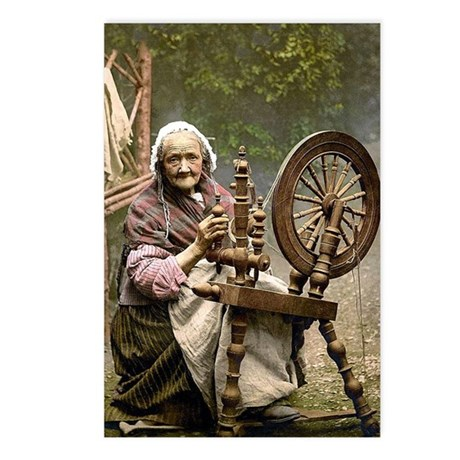 Irish Spinner Postcards (Package of 8)