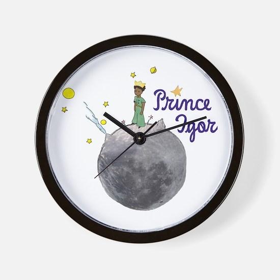 Prince Igor Wall Clock
