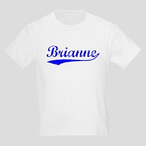 Vintage Brianne (Blue) Kids Light T-Shirt