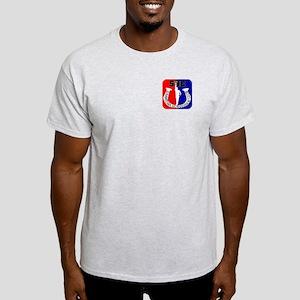 Saratoga Horseshoe Club Ash Grey T-Shirt