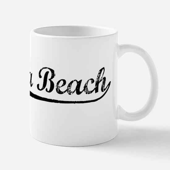 Vintage Hermosa Be.. (Black) Mug
