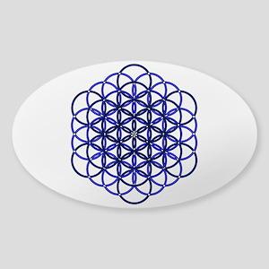 Archangel Raguel Delight Sticker (Oval)
