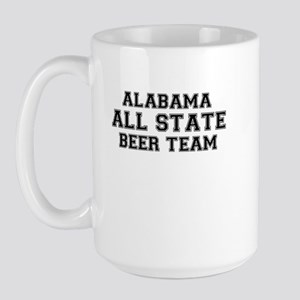 Alabama All State Beer Team Large Mug