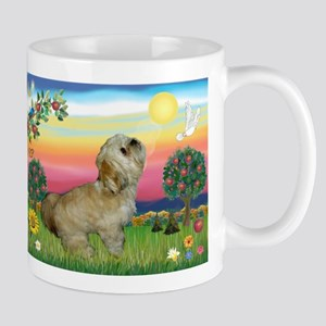 Lhasa Apso in Bright Country Mug