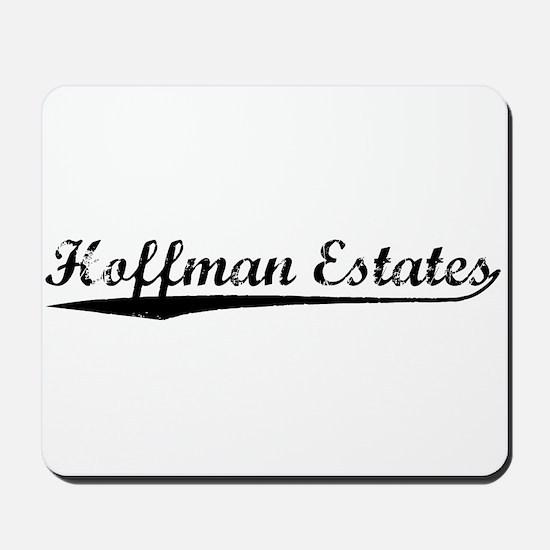 Vintage Hoffman Es.. (Black) Mousepad