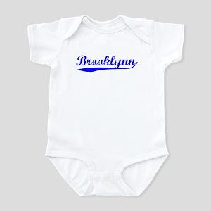 Vintage Brooklynn (Blue) Infant Bodysuit