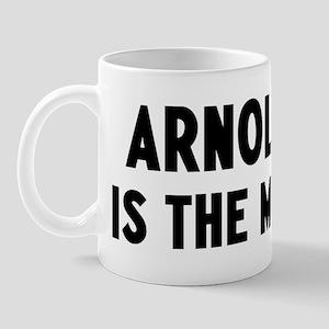 Arnold is the man Mug