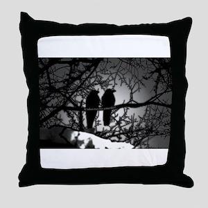 Murder! Throw Pillow