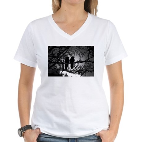 Murder! Women's V-Neck T-Shirt