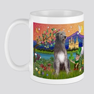 Irish Elf & Irish Wolfhound Mug