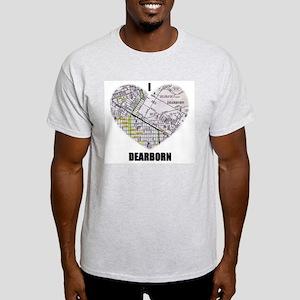 I LOVE DEARBORN (MICHIGAN) Light T-Shirt