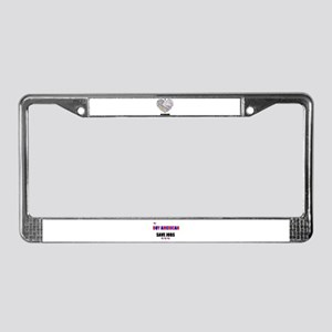 I LOVE DEARBORN (MICHIGAN) License Plate Frame