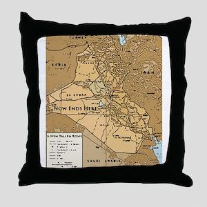 New Rome V Throw Pillow