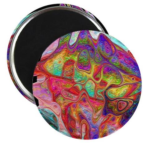 """Strange Fish 2.25"""" Magnet (10 pack)"""