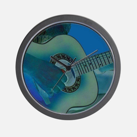 Acoustic Riffs Wall Clock