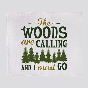The Woods Are Calling Stadium Blanket