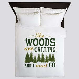 The Woods Are Calling Queen Duvet