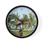 Seychelles 2 Wall Clock