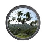 Seychelles Wall Clock