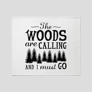 The Woods Are Calling Stadium Blanket