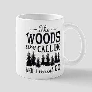 The Woods Are Calling Mug