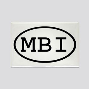 MBI Oval Rectangle Magnet