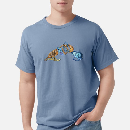 Celtic Bird & Rabbit Women's Dark T-Shirt