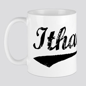 Vintage Ithaca (Black) Mug