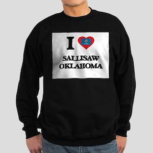 I love Sallisaw Oklahoma Sweatshirt