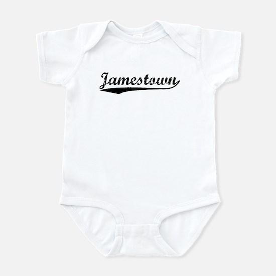 Vintage Jamestown (Black) Infant Bodysuit