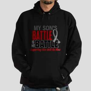My Battle Too Brain Cancer Sweatshirt