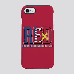 RED Remember Everyone Deploy iPhone 8/7 Tough Case