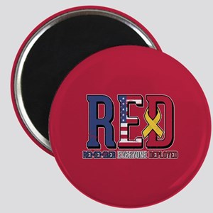 RED Remember Everyone Deployed Magnet